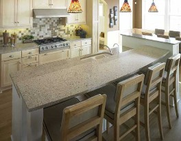 cambria countertops gray pass-bar photo
