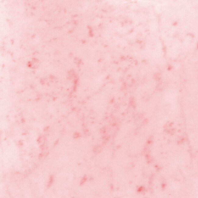 dyed marble tile with red dye that made marble pink