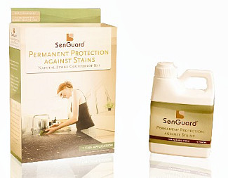 Senguard Granite Sealer bottle