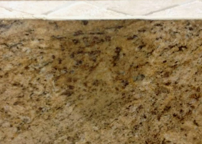 oil stain in granite countertops santa cecilia