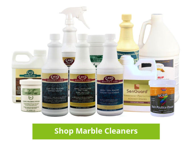 best marble cleaner sealer polish - professional stone safe cleaner bottles