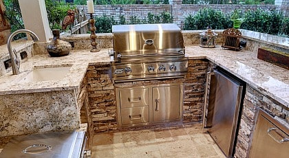 Best Outdoor Kitchen Countertops