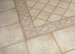 ceramic tile flooring
