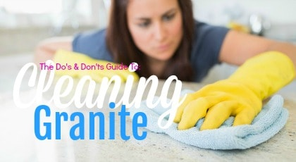 Cleaning Granite
