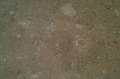 Cleaning Travertine Stains On Honed Bathroom Countertop