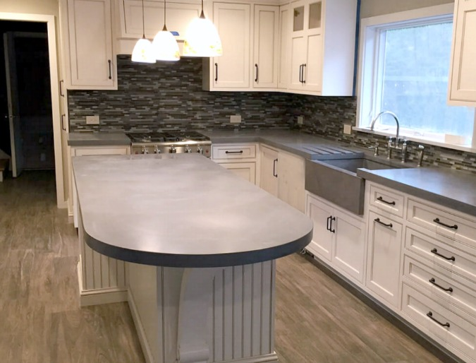 Concrete Countertops Style & Design Guide l Countertop Specialty