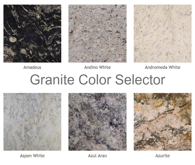 Granite Color Selector Tool