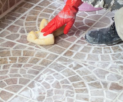 Removing Grout Haze - Cleaning grout