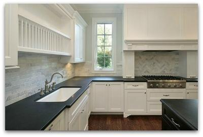 Black Granite Kitchen Countertops honed absolute black granite countetops for kitchen