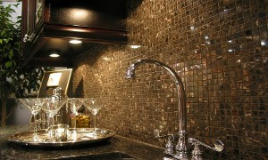 mosaic tile backsplash picture