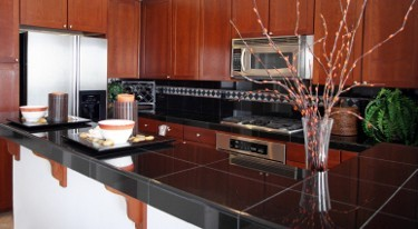 Exceptionnel Black Granite Tile Countertop