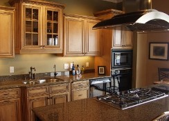 brown quartz countertops