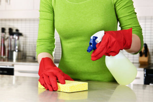 """Disinfectant Cleaner Options for Marble Countertops"""" title="""