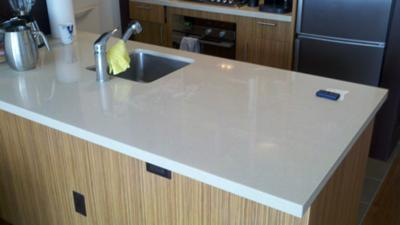 quartz countertop etch damage