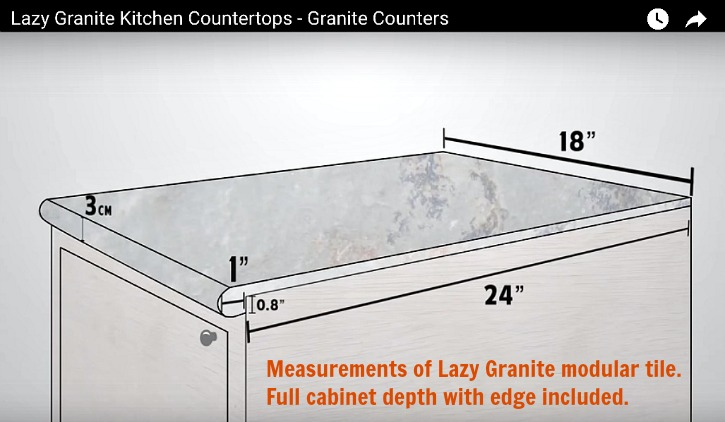 This Makes For A Systematized Installation Procedure With Fewer Seams Than Tile Countertop