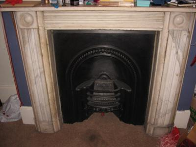 Cleaning Yellow Marble Fireplace Surround Stains