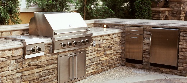 Kitchen Countertops : Outdoor Kitchen Countertops Ideas ...