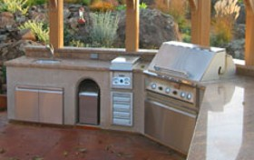 outdoor kitchen picture photo