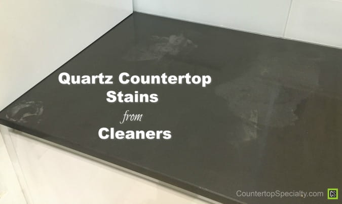 Quartz Countertops Stain From Chemical