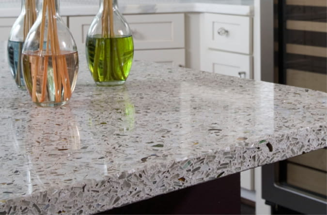 Recycled Gl Countertops Review