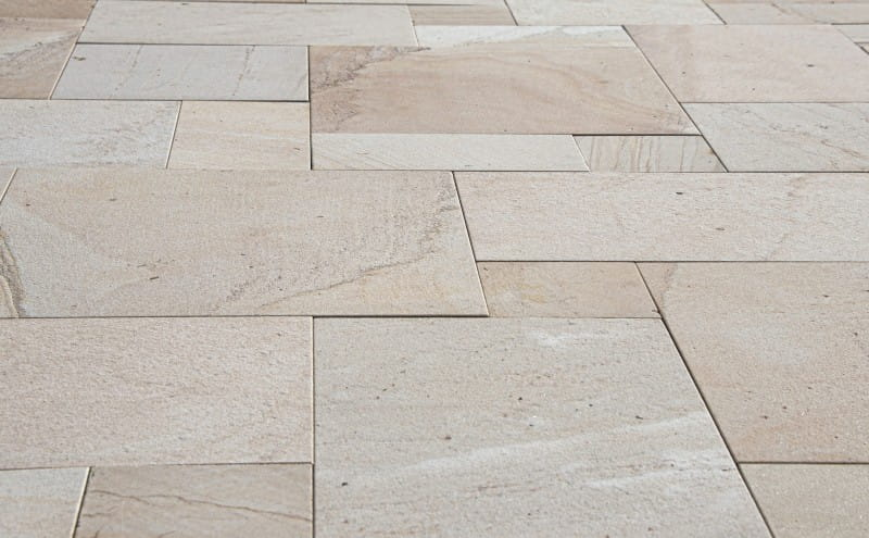 tan sandstone natural stone floor tiles