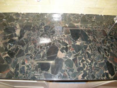 Sealing Granite Countertops - black beauty