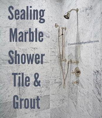 Sealing Marble Shower Tile U0026 Grout
