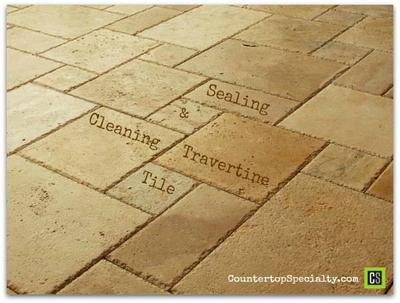 Travertine Maintenance Sealing Cleaning Answers