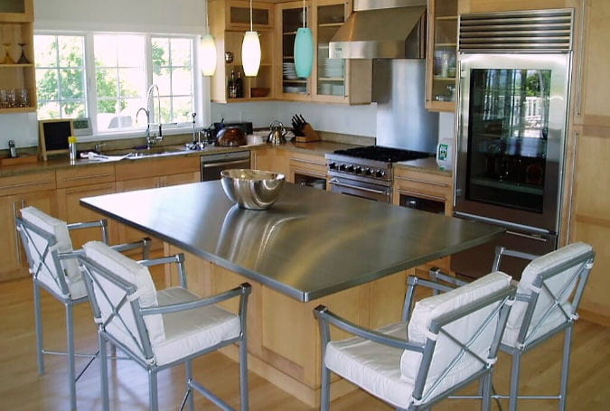 Stainless Steel Countertops Buyer S Guide Countertop Specialty