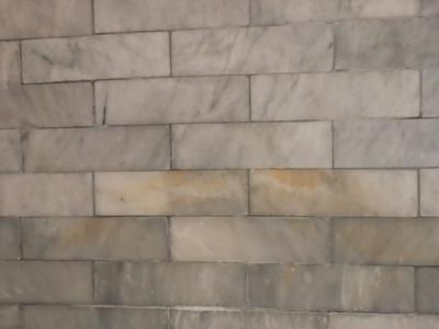 Marble Shower Wall